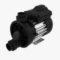 water pump 1 3d model