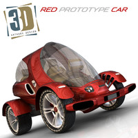 Red Car Prototype