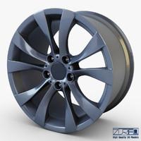 style 227 wheel ferric 3d model