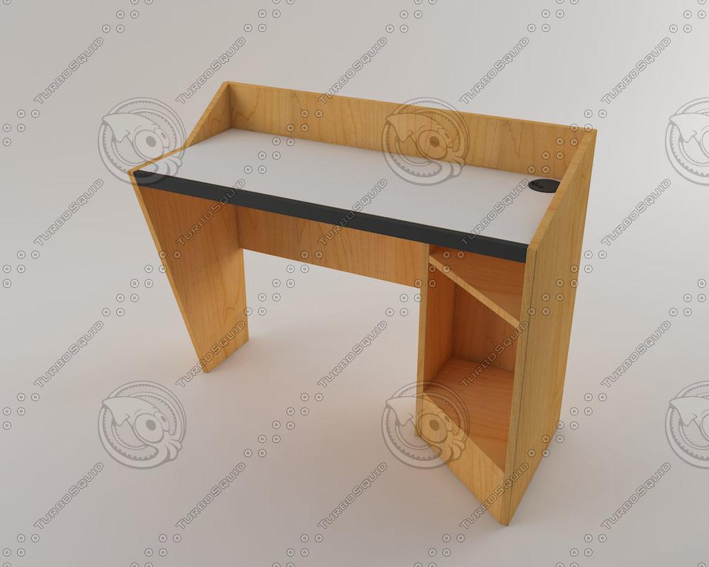 table design 3d model
