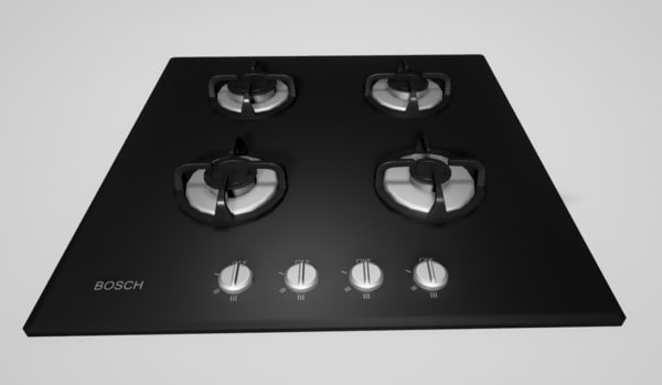 3d gas cooktop 3