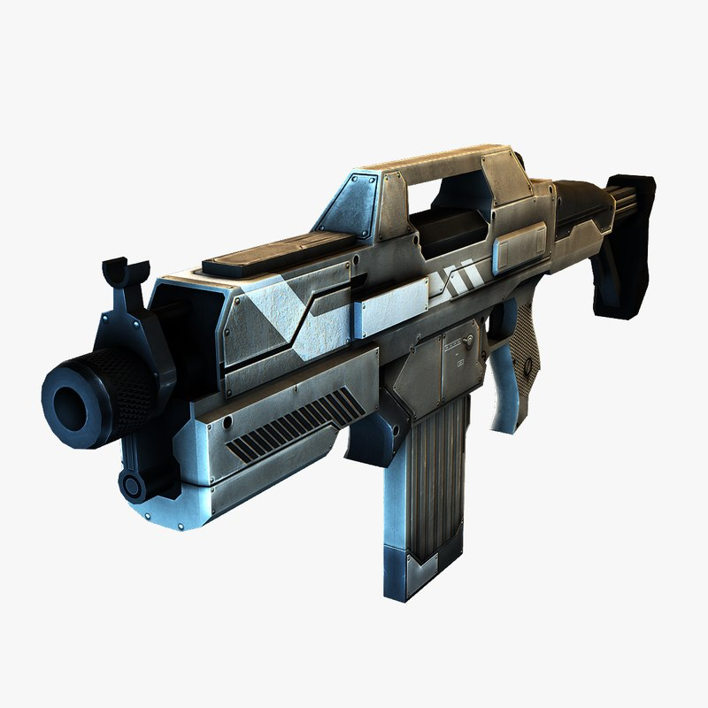 3d machine gun fps