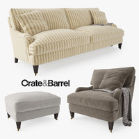 Crate and Barrel Essex Sofa Collection