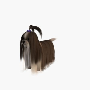 dog loyal outgoing 3d max