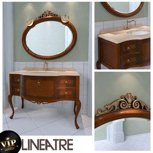 3d bathroom lineatre savoy model