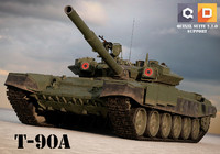 3d t-90s russian tanks