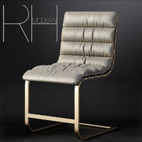 OVIEDO LEATHER SIDE CHAIR
