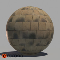 Cobblestone pavement material (corona version)