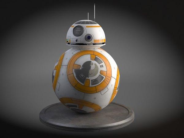 star wars droid 3d model