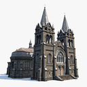 church 3D models
