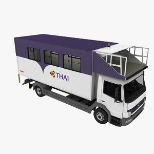 mallaghan lift ml6100t 3d model