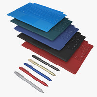 Type Cover & Pen All 5 Colors