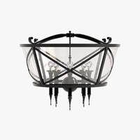 wired manhattan lantern obj