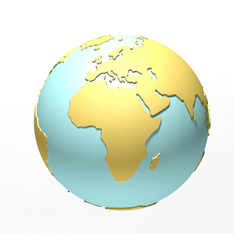 max world globe