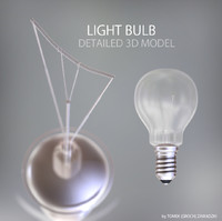 obj light bulb lamp