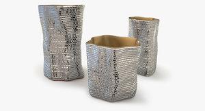 vesta silver vase argenesi obj