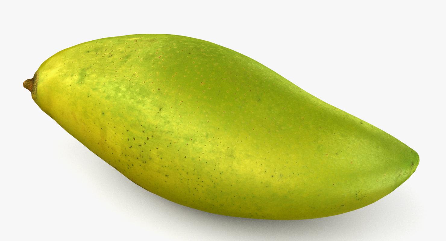 3d max green mango