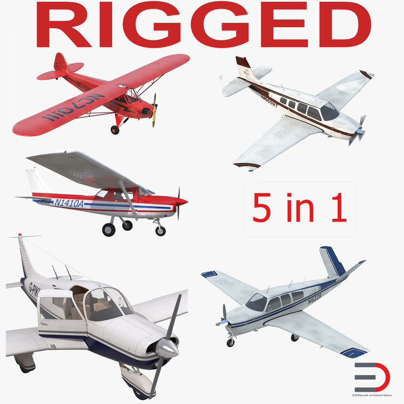private airplanes rigged v max