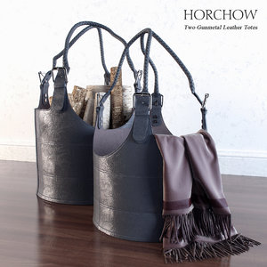 leather tote 3d max
