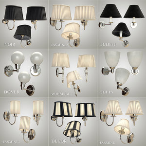 devon sconces 2 3d obj