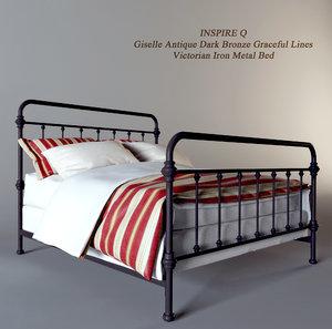 3d model bed inspire q