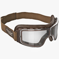 Retro Pilot T1 Goggles Brown