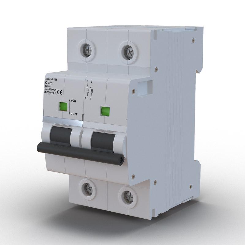 3d max circuit breaker