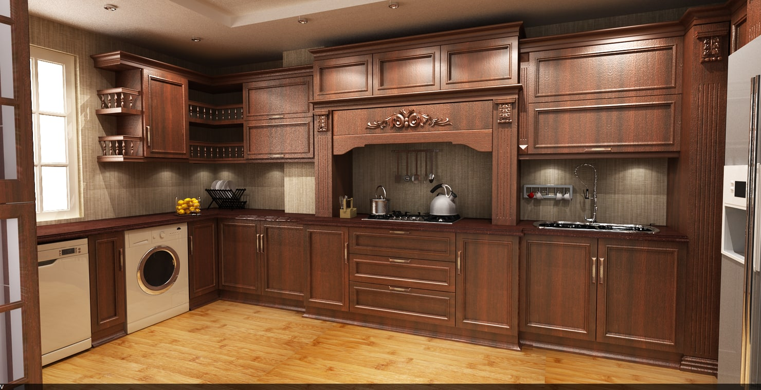 kitchen cabinet 3d 3d kitchen cabinet 18190