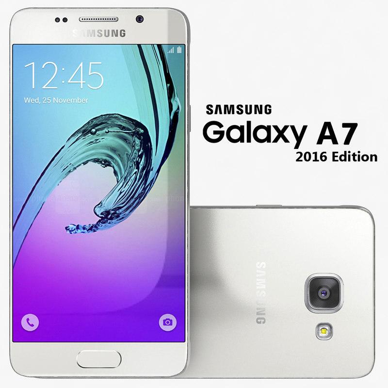 3d samsung galaxy a7 2016
