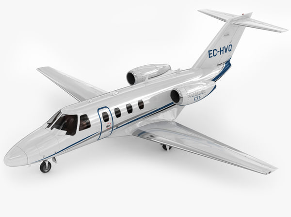 3d cessna 525 citation model