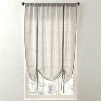 sheer linen-cotton tie-up shade 3d max