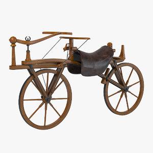 3d generation balance bicycle model