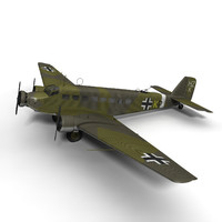 purchase ju 52 junkers 3d model