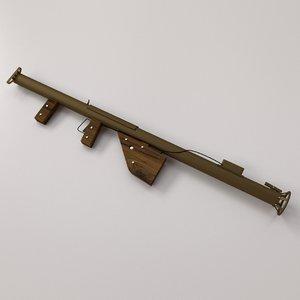 3d 3ds m1 bazooka