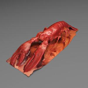 lobster restaurant obj