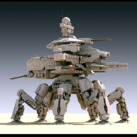 Annihilator MK-V battle mech