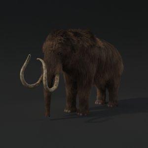 mammoth fur 3d max