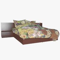 v-ray bed 3d fbx