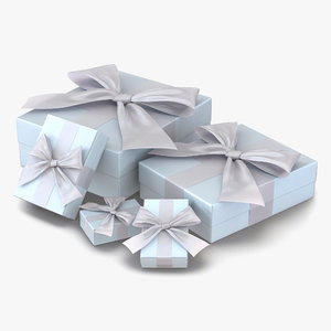 3d wedding presents set
