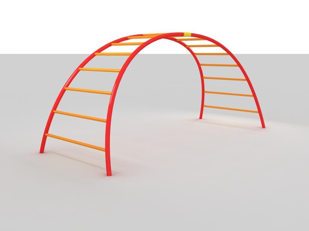 rainbow climber 3d model