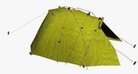 tent 3d 3ds