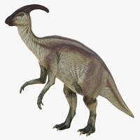 3d parasaurolophus pose 4