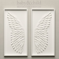paper angel wing art 3d max