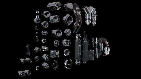props 3d model