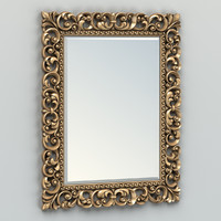 Rectangle mirror frame 003
