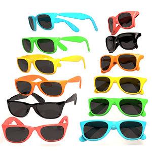 sunglasses colors 3d max