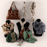handbags,scarves and shawls