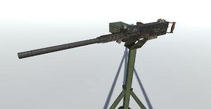 3ds max m 2 browning gun