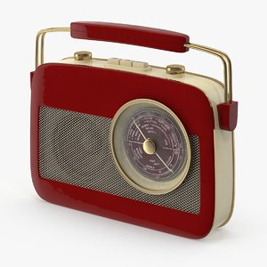 3d transistor radio model