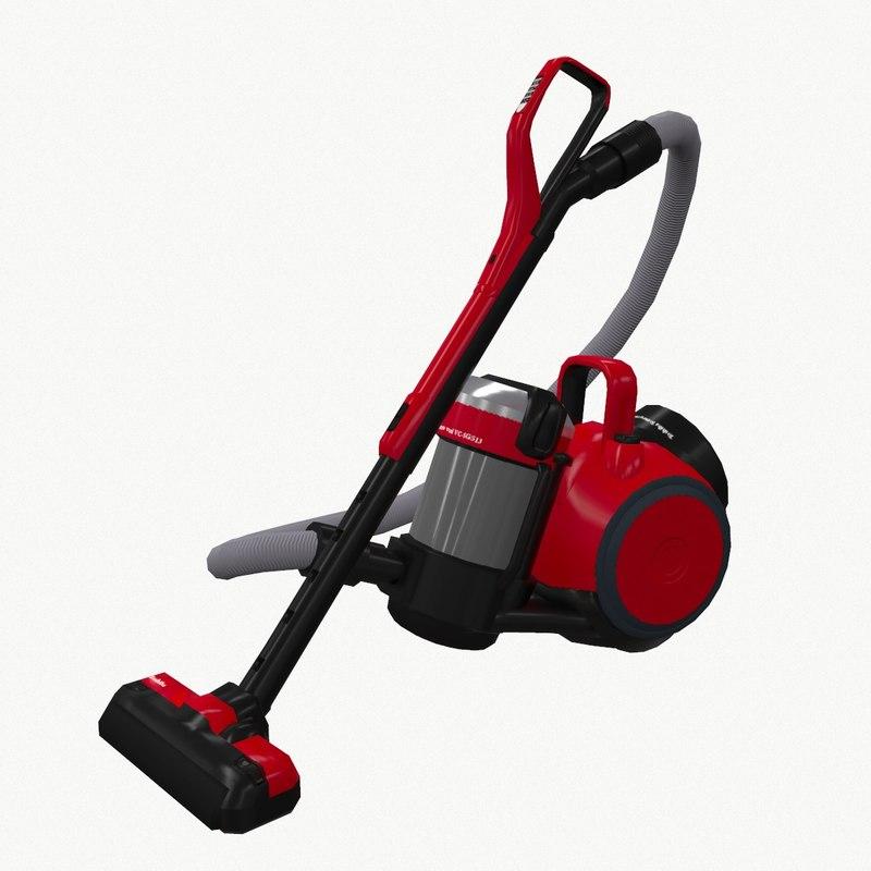 vacuum cleaner toshiba 3d model
